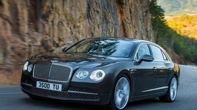Salon de Genève 2013 : Bentley Flying Spur, un jour d'avance