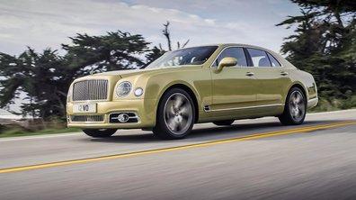 Bentley dévoile le restylage de la Mulsanne 2016