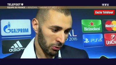 [Exclu Téléfoot] Euro 2016 : Karim Benzema, déçu mais supporter des Bleus