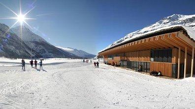Le ski à Bessans