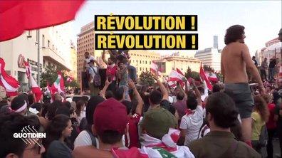 """Beyrouth : """"On restera dans les rues jusqu'à ce qu'on soit libres"""""""