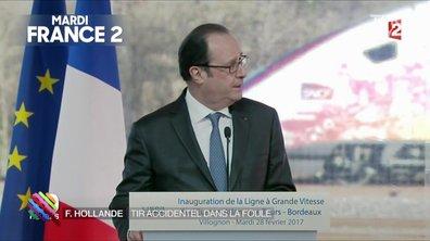 Les bidasses en folie à la protection de François Hollande ?