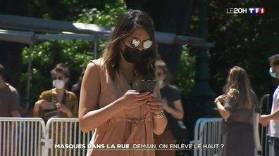 Bientôt la fin de l'obligation de porter un masque dans la rue ?