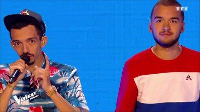 """Big Flo & Oli interprètent leur titre """"Dommage"""" avec les talents !"""