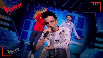 """BigFlo & Oli : """"Papa"""" en live sur la scène de """"The Voice"""""""