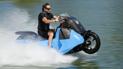 Biski, le scooter amphibie aussi à l'aise sur terre que sur mer