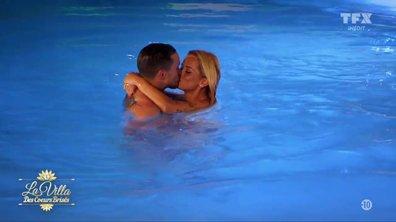 « LE BISOU » - Aurélie et son prétendant Julien, se « jettent à l'eau »