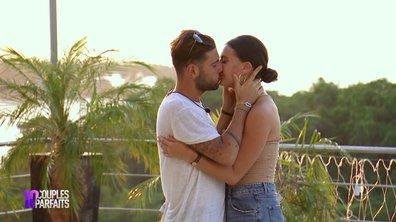 Orélie embrasse Allan, Mélanie sur le carreau