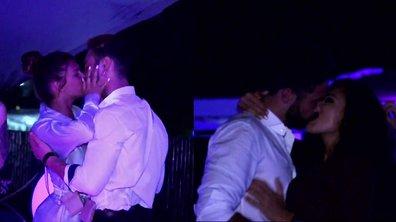 DOUBLE BISOU - Yamina et Maeva embrassent leurs prétendants