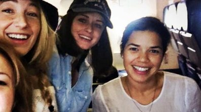 Blake Lively retrouve ses copines America Ferrara, Alexis Bledel et Amber Tamblyn