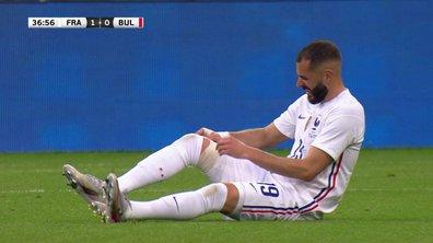 France - Bulgarie : Voir la blessure de Benzema en vidéo