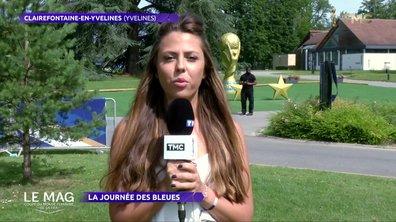 La journée des Bleues à Clairefontaine