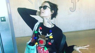Blindspot : quand Jaimie Alexander débarque sur le tournage en habit de Noël