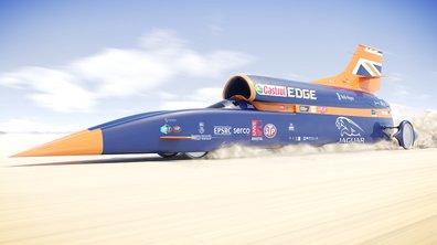 Bloodhound SSC : tentative de record de vitesse terrestre en octobre 2017
