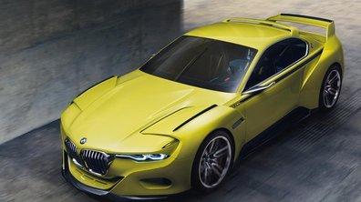 """BMW 3.0 CSL, un concept """"Hommage"""" rétro-futuriste à Villa d'Este 2015"""