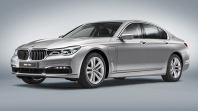 BMW présentera la 740e iPerformance au Salon de Genève 2016