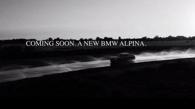 Salon de Genève 2016 : Teaser de la BMW Alpina B7 2017