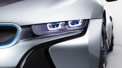 BMW développe des phares... à lasers !