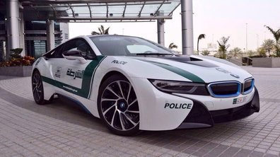 Insolite : Une BMW i8 pour la Police de Dubai
