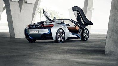 BMW i8 Spyder Concept : un cabriolet futuriste et réaliste !