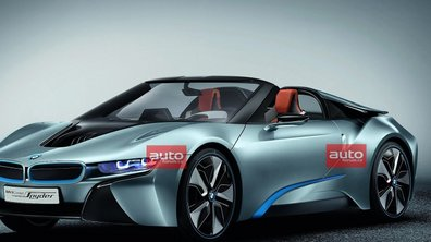BMW i8 Spyder Concept : l'hybride sportif dans le vent !