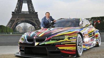 BMW M3 GT2 Art Car par Jeff Koons aux 24 heures du Mans 2010