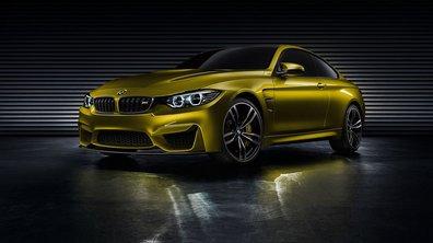 BMW M4 Coupé Concept 2013 : la sportive s'annonce en photos et vidéos