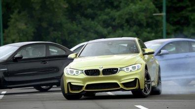 Insolite : La BMW M4 Coupé fête ses débuts américains en drift