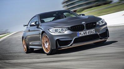 BMW M4 GTS 2016 : 500 chevaux, carbone et OLED