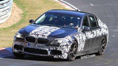 Nouvelle BMW M5 : en tests intensifs au Nürburgring