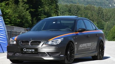 BMW M5 G-Power Hurricane RR : la berline la plus rapide du monde !