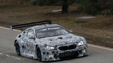 BMW M6 GT3 : la pistarde se prépare pour 2016