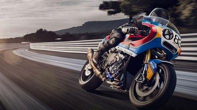 La BMW S1000RR signée Praem : la puissance du rétro