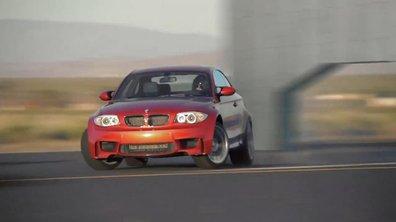 Vidéo : la BMW Série 1 M Coupé se donne en spectacle