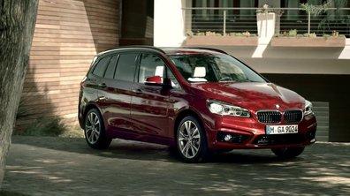BMW Série 2 Gran Tourer 2015 : présentation officielle