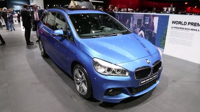 BMW Série 2 Gran Tourer, la bavaroise des familles au Salon de Genève 2015