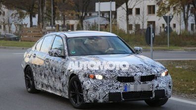 Scoop : la future BMW Série 3 2018 surprise sur la route !