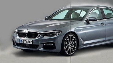 Les photos de la nouvelle BMW Série 5 en fuite sur internet