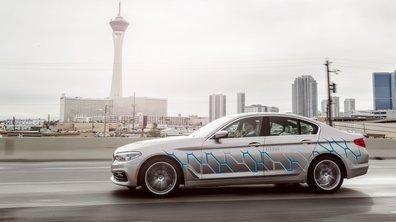 CES 2017 : une BMW Série 5 connectée et autonome