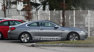 La nouvelle BMW Série 6 Coupé se montre en photos