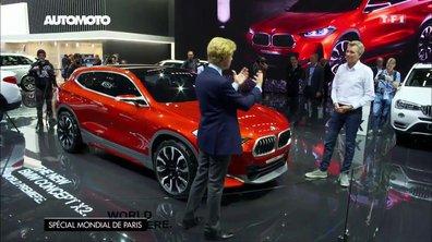 BMW X2 et Peugeot 5008, les coups de cœur design du Mondial de l'Auto 2016