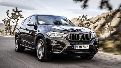 Le BMW X6, voiture la plus volée en France en 2014