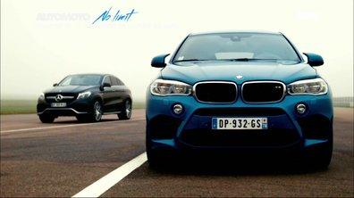 No limit : BMW X6 M vs Mercedes GLE Coupé 63 AMG