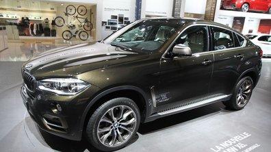 Mondial de l'Automobile 2014 : nouveau BMW X6, une deuxième génération plus élégante