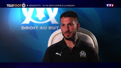 "[EXCLU Téléfoot 15/09] – Benedetto : ""Je ne me mets pas la pression, l'OM c'est un défi personnel"""