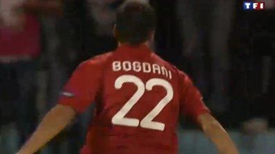 But de Bogdani : Albanie 1 - 2 France, 46ème