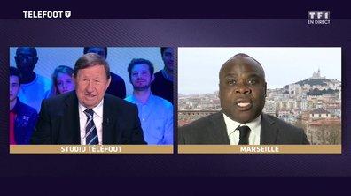 """[EXCLU Téléfoot 10/12] - Basile Boli déclare son amour à Guy Roux : """"Ce n'est pas un technicien comme les autres, c'est le plus grand entraîneur de France"""""""