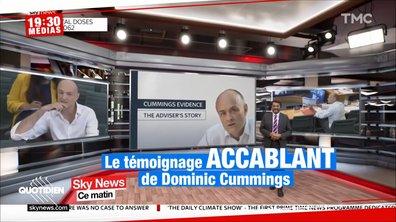 Boris Johnson : son ancien bras droit, Dominic Cummings, étrille sa gestion de la crise du Covid