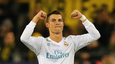 Borussia Dortmund-Real Madrid : Cristiano Ronaldo s'offre un doublé pour sa 400e