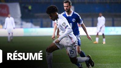 Bosnie-Herzégovine - France : Voir le résumé du match en vidéo